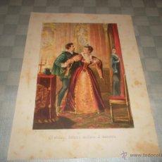 Varios objetos de Arte: BONITO GRABADO PARA ENMARCAR DEL 18. Lote 47406347