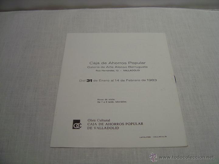 Varios objetos de Arte: FOLLETO EXPOSICION EDUARDO LABORDA - Foto 3 - 47625595
