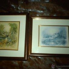 Varios objetos de Arte: LOTE 2 ANTIGUOS CUADROS VICENTE ROSO..ANDRES... Lote 47789913