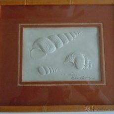 Varios objetos de Arte: CUADRO WENTLETRAPS. Lote 47955139