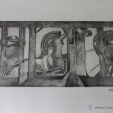 Varios objetos de Arte: PLANCHA ALUMINIO ORIGINAL DEL PINTOR FRANCISCO BLAS 1975 P/A. Lote 47962752