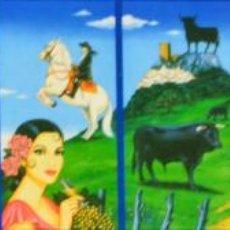 Varios objetos de Arte: COLECCIÓN DE 8 LAMINAS DEL PINTOR ANTONIO DE FELIPE. Lote 126644559