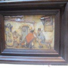 Varios objetos de Arte: PINTURA EN TRES DIMENSIONES, DE ANTON PIECK, ENMARCADA.. Lote 48899861