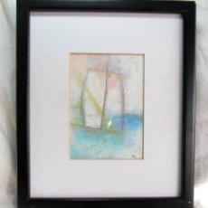 Varios objetos de Arte: CUADRO FIRMADO Y ENMARCADO 1985. Lote 48967475