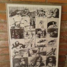 Varios objetos de Arte: CARTEL DE EXPOSICIÓN ORLANDO PELAYO PARIS 1979. Lote 49014410