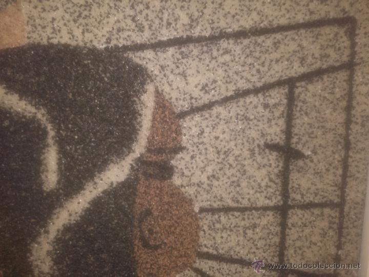 Varios objetos de Arte: IMPRESIONANTE CUADRO REALIZADO EN GRANITO (MINUSCULAS PIEDRAS) UNICO RARO ESTUDIAMOS OFERTAS - Foto 3 - 49142203