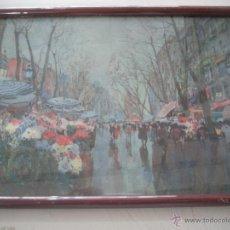 Varios objetos de Arte: PRECIOSO CUADRO ANTIGUO . Lote 49426501