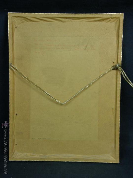 Varios objetos de Arte: gouache y dorado letra capitular in principio trabajo indio 32,3x24,3cms - Foto 7 - 49543461