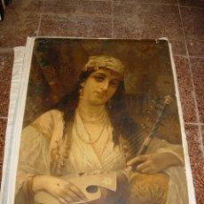 Varios objetos de Arte: CUADRO SEÑORA. ANTIGUO 75X53CM. Lote 57615512