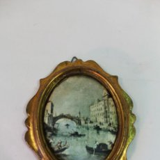 Varios objetos de Arte: CUADRO OVAL PEQUEÑO. Lote 49916977