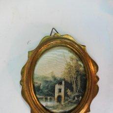 Varios objetos de Arte: CUADRO OVAL PEQUEÑO. Lote 49917012