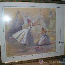 Varios objetos de Arte: CUADRO BAILARINAS. Lote 49978322