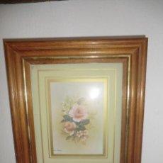 Varios objetos de Arte: CUADRO MOTIVOS FLORALES.. Lote 50335904