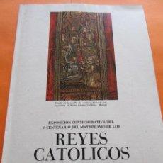 Varios objetos de Arte: PRECIOSAS IMAGENES EXPOSICION V CENTENARIO DEL MATRIMONIO REYES CATOLICOS CAPITULO III ARTES APLICAD. Lote 50519032