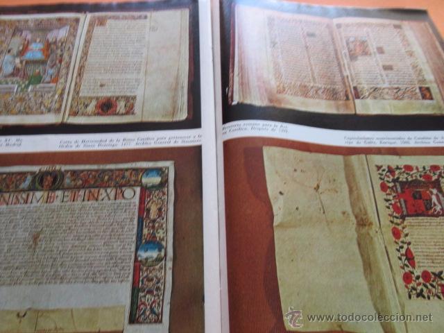 Varios objetos de Arte: PRECIOSAS IMAGENES EXPOSICION V CENTENARIO DEL MATRIMONIO REYES CATOLICOS CAPITULO III ARTES APLICAD - Foto 2 - 50519032