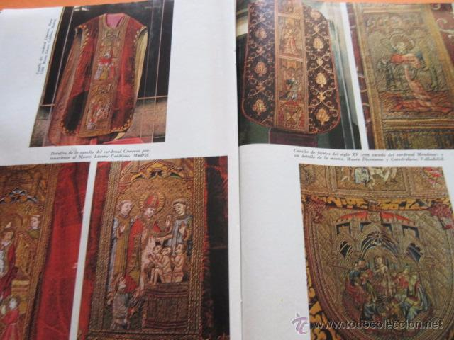 Varios objetos de Arte: PRECIOSAS IMAGENES EXPOSICION V CENTENARIO DEL MATRIMONIO REYES CATOLICOS CAPITULO III ARTES APLICAD - Foto 4 - 50519032