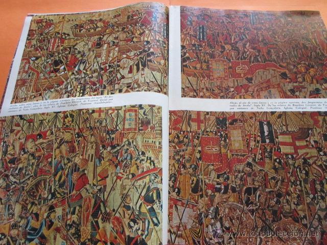 Varios objetos de Arte: PRECIOSAS IMAGENES EXPOSICION V CENTENARIO DEL MATRIMONIO REYES CATOLICOS CAPITULO III ARTES APLICAD - Foto 6 - 50519032