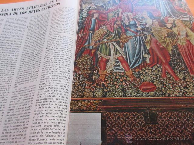 Varios objetos de Arte: PRECIOSAS IMAGENES EXPOSICION V CENTENARIO DEL MATRIMONIO REYES CATOLICOS CAPITULO III ARTES APLICAD - Foto 8 - 50519032
