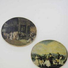 Varios objetos de Arte: CUADROS ANTIGUOS OVALADOS. Lote 50649670