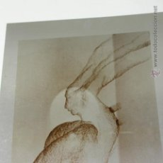 Varios objetos de Arte: PLANCHA ORIGINAL EN ALUMINO DEL PINTOR PABLO SANGUINO, TOLEDO. Lote 50692126