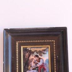 Varios objetos de Arte: ESMALTE DE LIMOGES ANDRE BUREAU. Lote 50849776