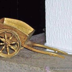 Varios objetos de Arte: CARRO DE BRONCE, LATON. Lote 26838424
