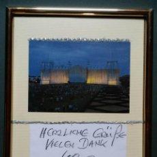 Varios objetos de Arte: WOLFGANG VOLZ / CHRISTO: WRAPPED REICHSTAG, FOTOGRAFÍA FIRMADA POR VOLZ. Lote 51207973