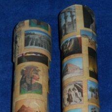 Varios objetos de Arte: LOTE DE 12 PERGAMINOS EGIPCIOS - EGIPTO. Lote 51324135