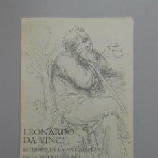 Varios objetos de Arte: LEONARDO DA VINCI. ESTUDIOS DE LA NATURALEZA EN LA BIBLIOTECA REAL DEL CASTILLO DE WINDSOR. TDKP5. Lote 51374488