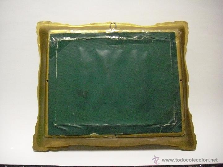 Varios objetos de Arte: CUADRO - CUADRITO DE VELÁZQUEZ: LA FRAGUA DE VULCANO, AÑOS 80. - Foto 2 - 51427921