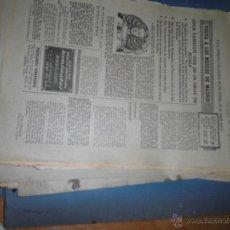 Varios objetos de Arte: GRAN LOTE 50 PAGINAS DE ABC VISTA A MUSEOS DE MADRID 1967 ENVIO GRATUITO. Lote 51603503