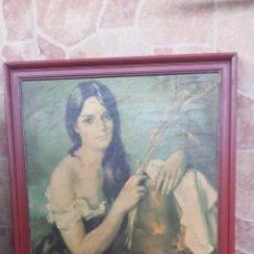 Varios objetos de Arte: ANTIGUO CUADRO, PRECIOSO. Lote 51633519