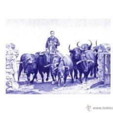Varios objetos de Arte: IMPRESIÓN DIGITAL (TIPO LITOGRAFÍA). -A CORRER UN POCO...-. AUTOR: M. ALFARO. Lote 51786387