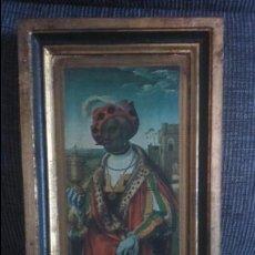 Varios objetos de Arte: CUADRO SOBRE MADERA. Lote 52283359