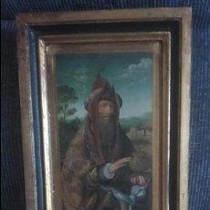 Varios objetos de Arte: CUADRO SOBRE MADERA. Lote 52283364