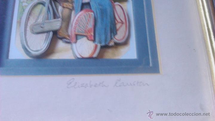 Varios objetos de Arte: elizabeth causton studios. cuadro colage en 3d. horniman´s tea firmado por elizabth causton. - Foto 3 - 53066721