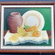 Varios objetos de Arte: CUADRO LIENZO PINTADO A OLEO. Lote 53178034