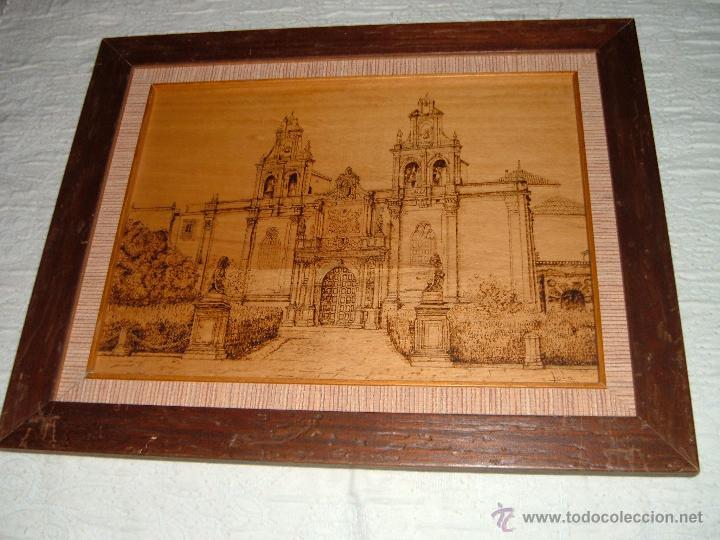 CUADRO SANTA MARIA DE LOS REALES ALCAZARES DE UBEDA (Arte - Varios Objetos de Arte)