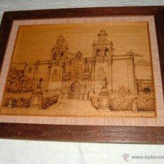 Varios objetos de Arte: CUADRO SANTA MARIA DE LOS REALES ALCAZARES DE UBEDA. Lote 53476012