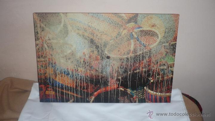 CUADRO ABSTRACTO PINTURA ACRÍLICA (Arte - Varios Objetos de Arte)
