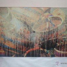 Varios objetos de Arte: CUADRO ABSTRACTO PINTURA ACRÍLICA. Lote 53639120