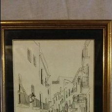 Varios objetos de Arte: DIBUJO A TINTA. Lote 54096916