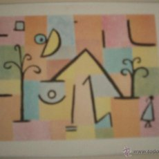 Varios objetos de Arte: CUADRO TIPO NAIF NIÑO VOLVIENDO A CASA. Lote 54306153