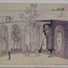 Varios objetos de Arte: DALÍ. 2004. LÁMINA REGALO DEL CÍRCULO DE LECTORES. SIN ENMARCAR.. Lote 54432029