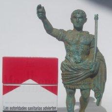 Varios objetos de Arte: AUGUSTO DE PRIMA PORTA ESTATUA DE BRONCE. Lote 132685422