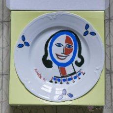 Varios objetos de Arte: PLATO FIRMADO POR EL PINTOR AURELIO PEREZ MARTINEZ.. Lote 55016364