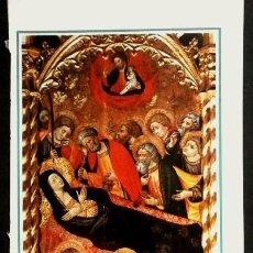Varios objetos de Arte: 6 LAMINAS DE CALENDARIO PINTURAS GOTICAS EN MALLORCA - FOTOS ORONOZ. Lote 55060340
