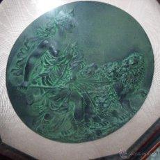 Varios objetos de Arte: CUADRO ATENEA 53CMX50CMX6CM. Lote 55067195