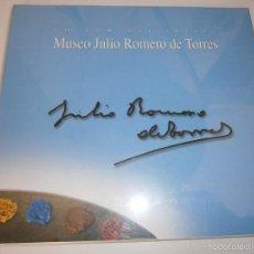 Varios objetos de Arte: MUSEO JULIO ROMERO DE TORRES CD ROM MULTIMEDIA CORDOBA SIN ESTRENAR EDICION ESPECIAL. Lote 55339552