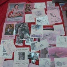 Varios objetos de Arte: MARIA ROSA ARSALAGUET. NUMEROSOS DIBUJOS , CATALOGOS DE EXPOSICIONES , CARTA DE LA DUQUESA DE ALBA.. Lote 55634631